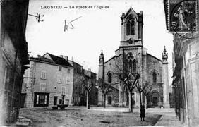 L'église de Lagnieu